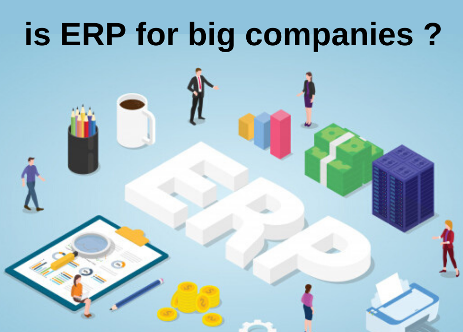 Myth Buster- ERP is only for big companies